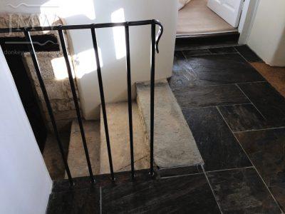 cripps-barn-wedding-venue-handrail-ornate-wrought-iron