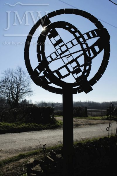 iron-art-sphere-display-blacksmith-forge-gloucestershire