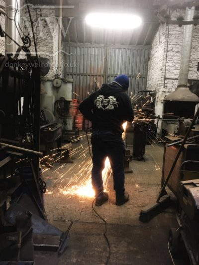 working-blacksmith-forge-gloucestershire