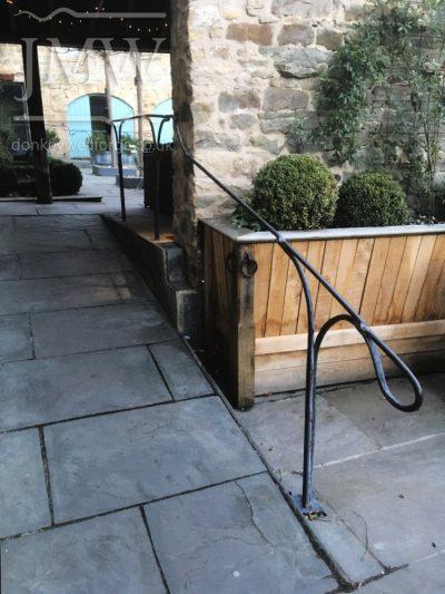 healey-barn-wedding-venue-handrail-lead-finish-forged