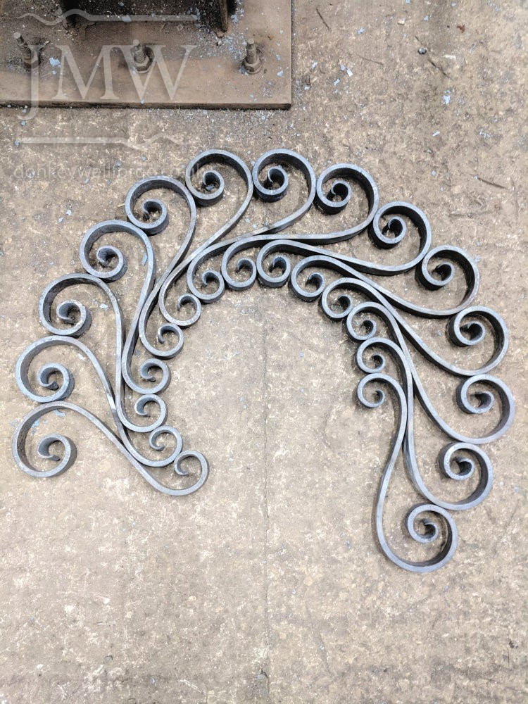 making scrolls-forge-blacksmith-gloucestershire