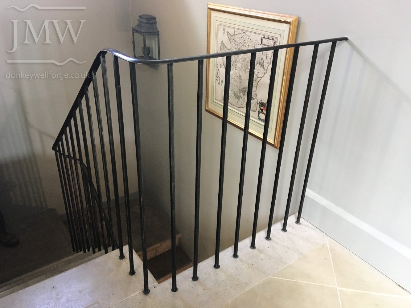 balustrades-stair-handrail-iron-country-house-riveted-forged