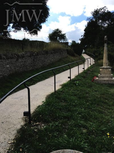 church-ecclesiastical-handrail-blacksmith-gloucestershire