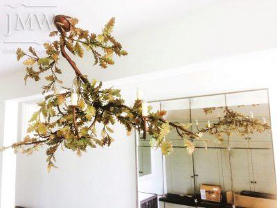 oak-leaf-bespoke-light-chandelier-donkeywell-forge