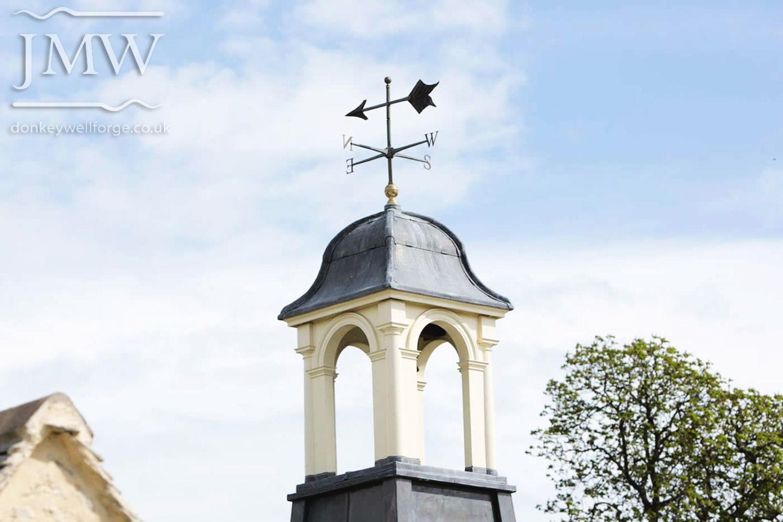 weathervane-copper-iron-blacksmith-bespoke-country-estate-cotswolds-donkeywell-forge
