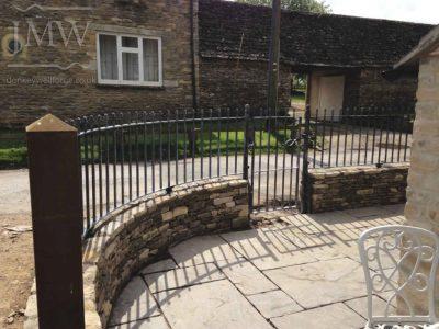 ornamental-ironwork-acorn-railings-zinc-lead-finish-railings-cotswolds