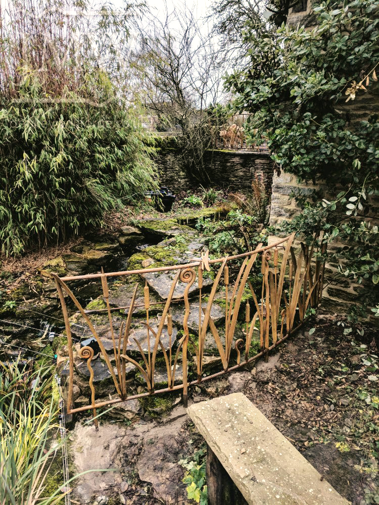 reed-bullrush-railings-garden-cotswolds-ornate-iron-forged-donkeywell