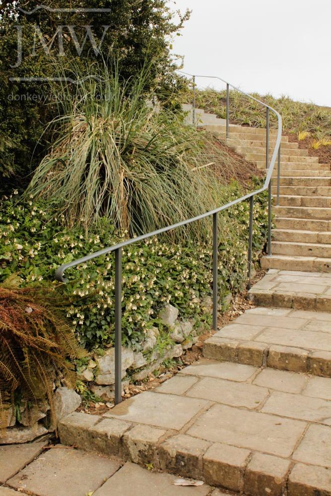 museum-handrail-architectural-metalwork-garden