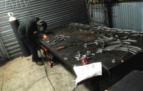 restoring-balcony-railings-iron-forge-blacksmith-cheltenham