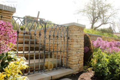 ornate-pool-gates-latch-collars-latch-lead-finish