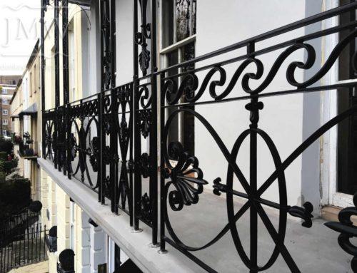 Cheltenham Balcony Ironwork Restoration