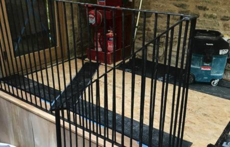 finished-ironwork-stair-ballustrade-interior