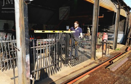 georgian-traditional-ironwork-railings-cirencester-making