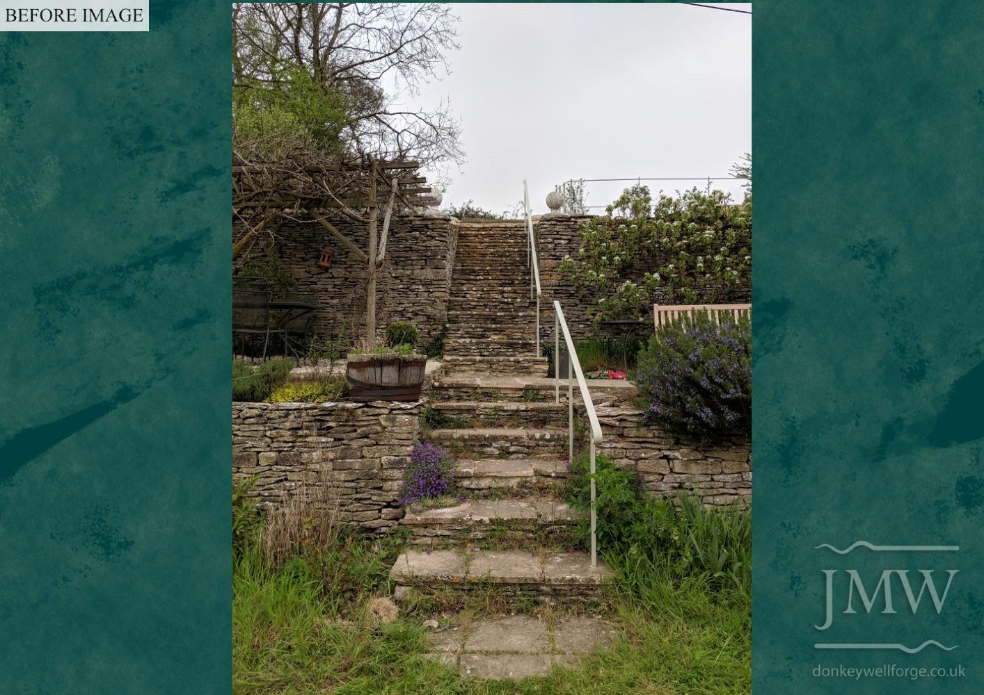 ironwork-garden-arch-before