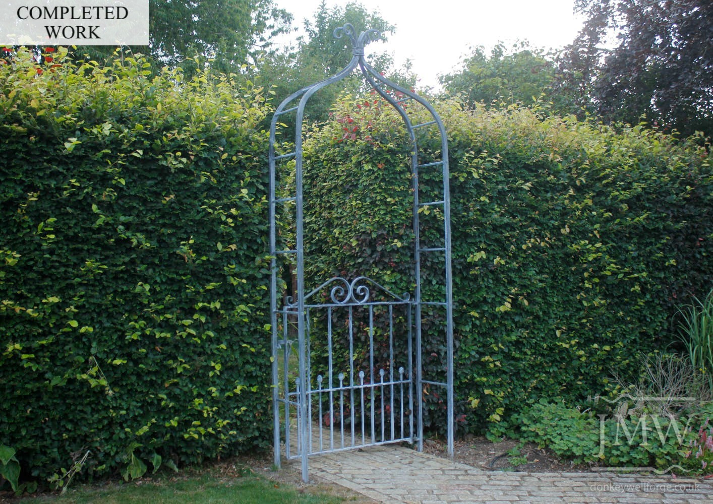 completed-forged-garden-arch-gate