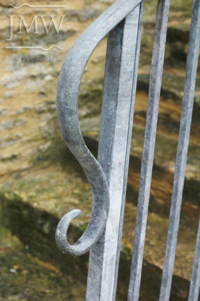forged-ironwork-external-stair-handrail-railing-detail-scroll