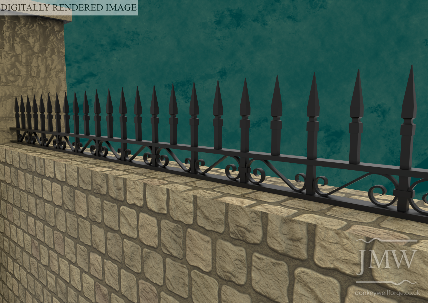 Ornate-traditional-forged-scroll-railings