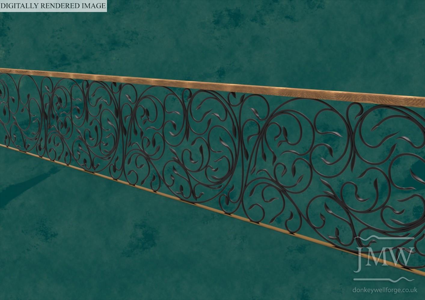 digitally-rendered-image-decorative-railing-balustrade-forged-ironwork-architectural