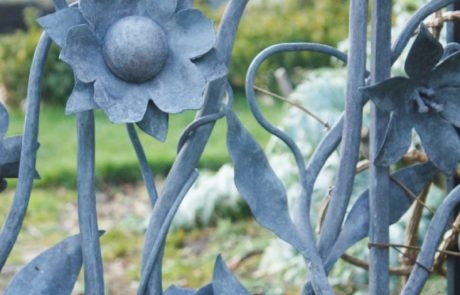 Garden-forged-Floral-Panel-artistic-blacksmith