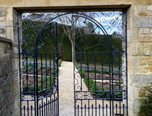 Ornate Arched Garden Gates