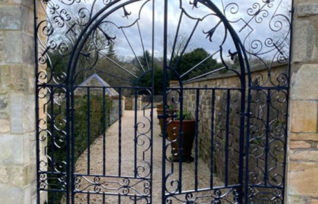 ornate-traditional-ironwork-forged-gates-donkeywell-forge-scrollwork