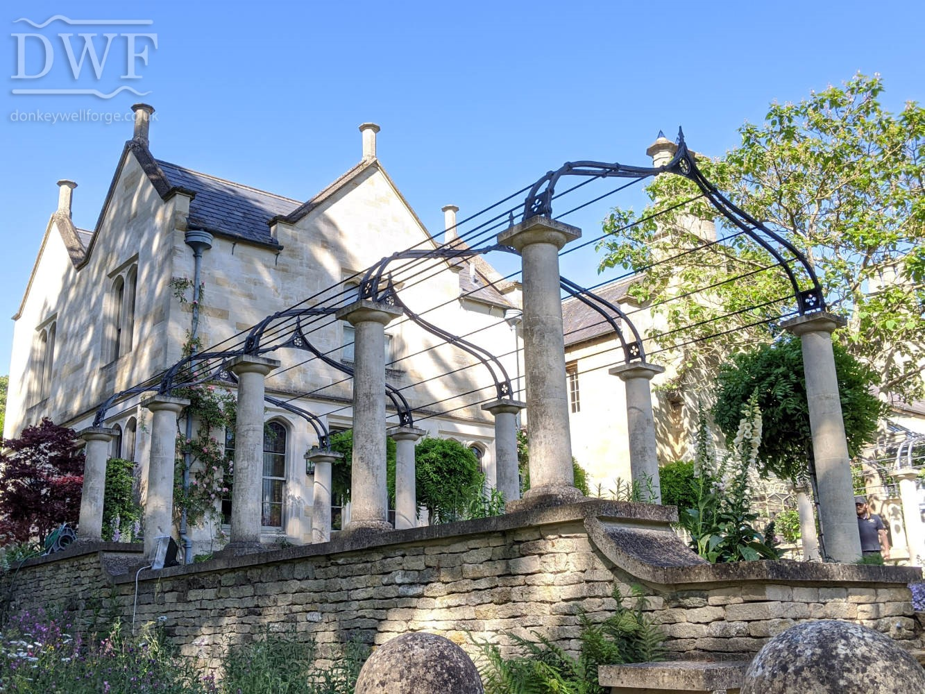 traditional-ironwork-gothic-garden-arches-riveted-forged