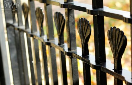 traditional-ornate-decorative-forged-ironwork-pedestrian-gates-swellings-finials-donkeywell-forge