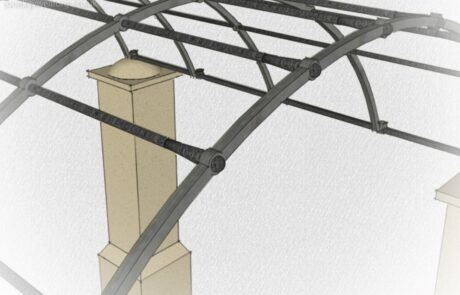 traditional-forged-swellings-tenoned-punched-bars-ironwork-archway-render