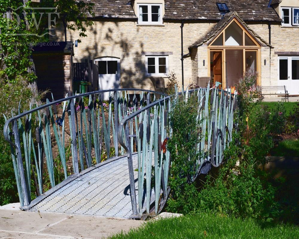 forged-ironwork-reed-bridge-artistic-architectural-metalwork