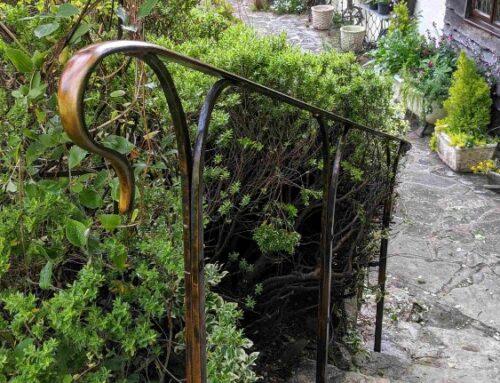 Bronze Patina Handrails